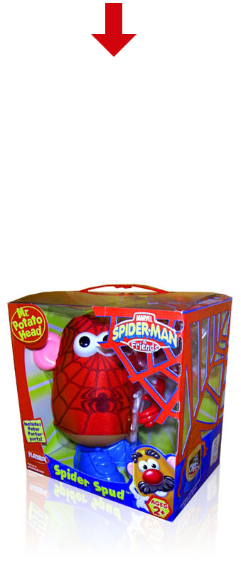 Spiderman Potatohead